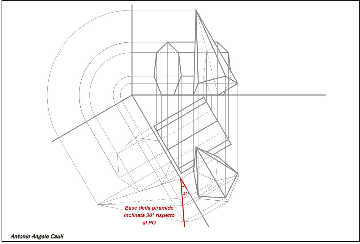 Proiezioni ortogonali aac less for Piani di cabina di base di base